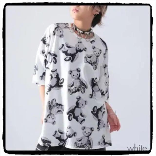 FUNKY FRUIT(ファンキーフルーツ)のスケルトンテディ Tシャツ レディースのトップス(Tシャツ(半袖/袖なし))の商品写真