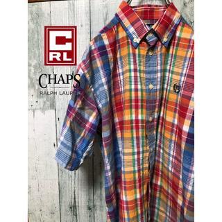 チャップス(CHAPS)の【激レア】CHAPS カラフル チェックシャツ(シャツ)