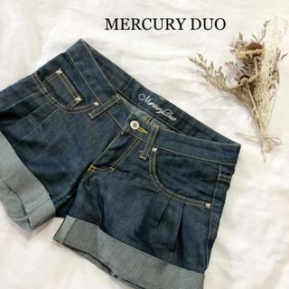 マーキュリーデュオ(MERCURYDUO)のデニムショートパンツ MERCURY DUO(ショートパンツ)