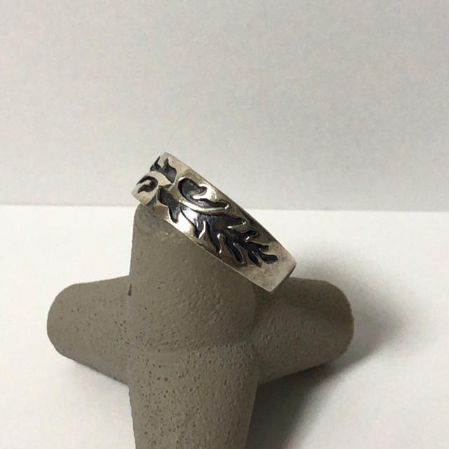 1030 シルバーリング 模様  レディースのアクセサリー(リング(指輪))の商品写真