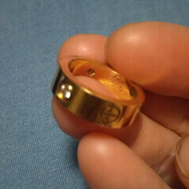 Cartier(カルティエ)の3Pダイヤ イエローゴールド ラブリング レディースのアクセサリー(リング(指輪))の商品写真