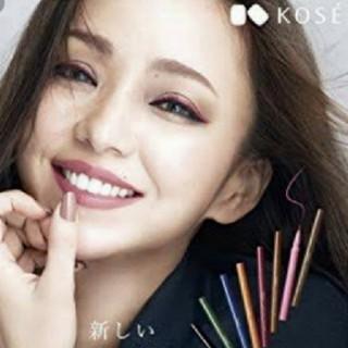 安室奈美恵さん  ポスター 使用色  ライナー