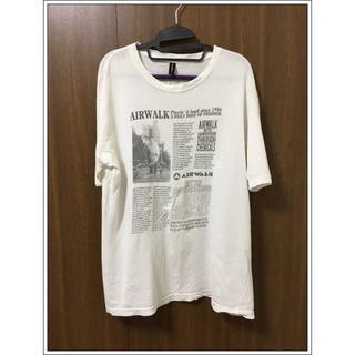 古着屋さんで買ったTシャツ XL 訳あり AIR WALK(Tシャツ/カットソー(半袖/袖なし))