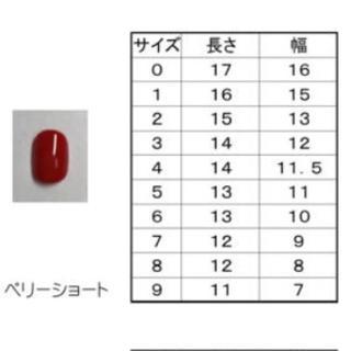 ネイルチップ NO.33 コスメ/美容のネイル(つけ爪/ネイルチップ)の商品写真