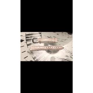 FRANCK MULLER - フランクミュラー 伊勢丹新宿店購入純正 パールホワイトベルト 純正バックル付き