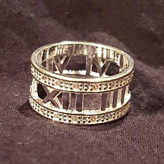 ダイヤモンドCZエックスデザインリング(リング(指輪))