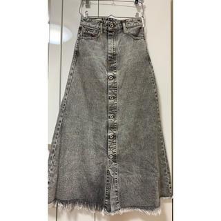 ディーゼル(DIESEL)のdiesel デニムスカート ロングスカート 美品(ロングスカート)