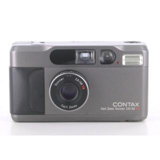 キョウセラ(京セラ)のコンタックス CONTAX T2 チタンブラック(フィルムカメラ)