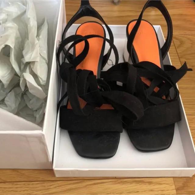 SLY(スライ)のSLY レースアップ サンダル レディースの靴/シューズ(サンダル)の商品写真
