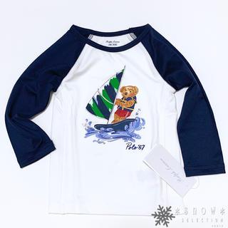 ラルフローレン(Ralph Lauren)の新品 ラルフローレン ポロベア ラッシュガード 12M/80(水着)