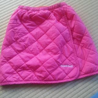 モンベル(mont bell)のmont-bell スカート ピンク サイズ95-125(スカート)