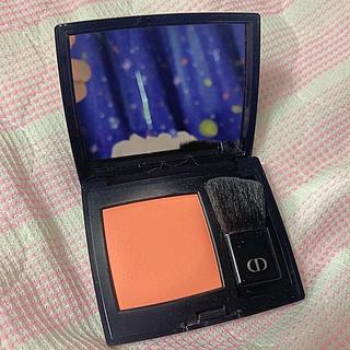 ディオール(Dior)のDiorチーク439WHYNOTオレンジ系オレンジチーク(チーク)