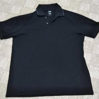 UNIQLO - UNIQLO メンズ ポロシャツ ネイビー Lサイズ