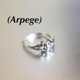 🔴 Arpegeアルページュ クロスモチーフ925シルバーリング(リング(指輪))