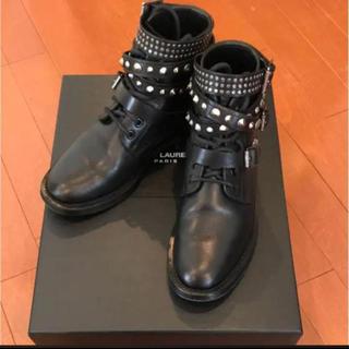 サンローラン(Saint Laurent)のサンローラン 美品 ブーツ(ブーツ)