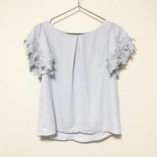 しまむら - タグ付き 袖フリルトップス 花柄