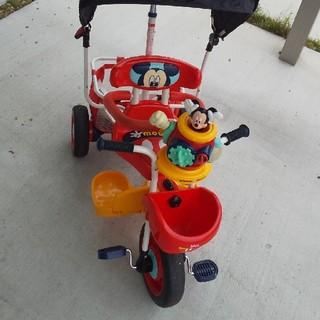 手渡しのみ!ミッキー三輪車 美品です。