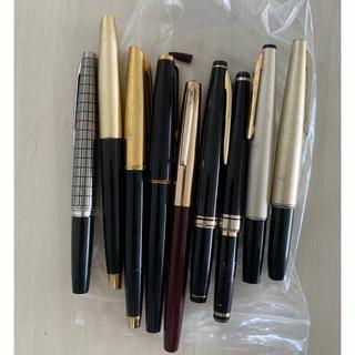 モンブラン(MONTBLANC)の万年筆 モンブラン プラチナム ジャンク 筆記用具 ペン 文具 マーカー(ペン/マーカー)