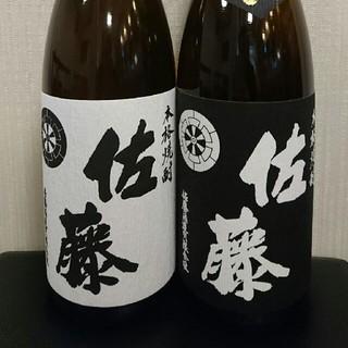 佐藤 黒 白 1800ml(焼酎)