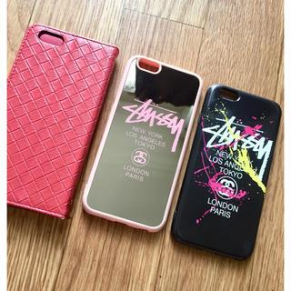 ステューシー(STUSSY)のiPhone6ケース(3点セット)(iPhoneケース)