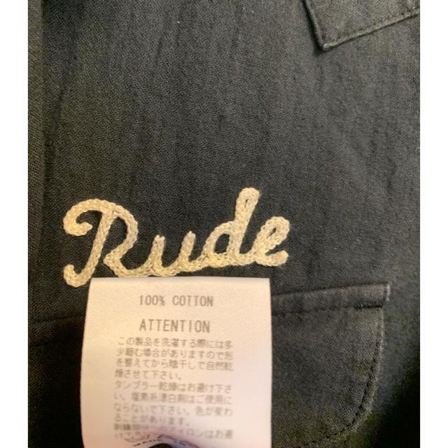RUDE GALLERY(ルードギャラリー)のルードギャラリー 半袖ウエスタンシャツ メンズのトップス(シャツ)の商品写真