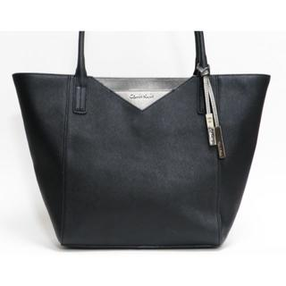 カルバンクライン(Calvin Klein)の超美品 カルバン・クライン トートバッグ レザー 黒 良品 正規品  (トートバッグ)