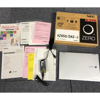 エヌイーシー(NEC)の更に割引!美品!LAVIE Hybrid ZERO HZ650/DAS(ノートPC)