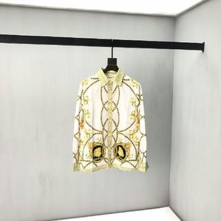 ヴェルサーチ(VERSACE)のVersace  ヴェルサーチ  メンズ  長シャツ  カジュアル お洒落(Tシャツ/カットソー(七分/長袖))