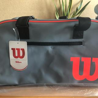 wilson - ウィルソン クラッシュダッフルスモールバッグ テニスバッグ