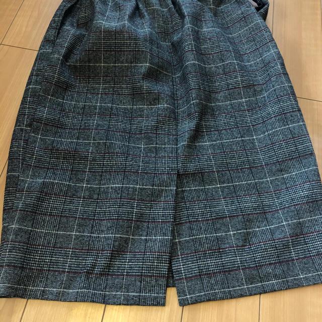 しまむら(シマムラ)のしまむら⭐️ベルト付きグレンチェックスカート レディースのスカート(ひざ丈スカート)の商品写真