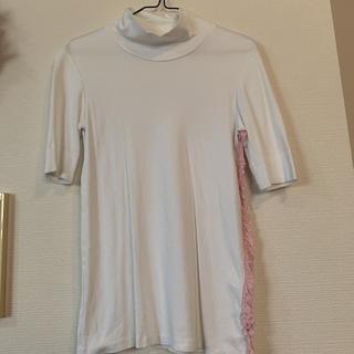 オープニングセレモニー(OPENING CEREMONY)のTARO HORIUCHI ハイネック カットソー(カットソー(半袖/袖なし))