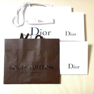 ディオール(Dior)のDior LOUIS VUITTON ショップ袋 ショッパーズ(ショップ袋)