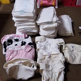 布おむつセット 新生児からオムツ外れまで(布おむつ)