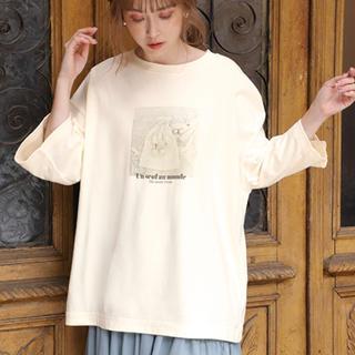 ワンアフターアナザーナイスクラップ(one after another NICE CLAUP)のBigプリントTシャツ(Tシャツ(長袖/七分))