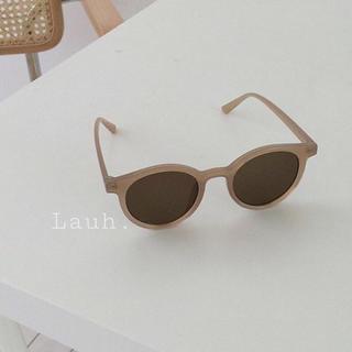 アリシアスタン(ALEXIA STAM)のj146.nude sunglasses(brown)(サングラス/メガネ)