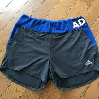 アディダス(adidas)のアディダス adidas ランニングパンツ ショートパンツ  黒 レディース(ウェア)