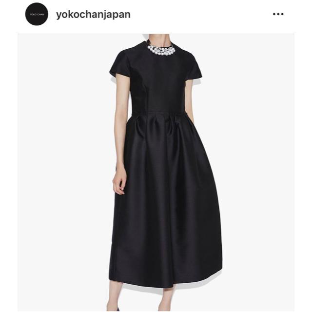 Drawer(ドゥロワー)のyokochan今期2019AW Gathered Dressギャザードレス新品 レディースのワンピース(ロングワンピース/マキシワンピース)の商品写真