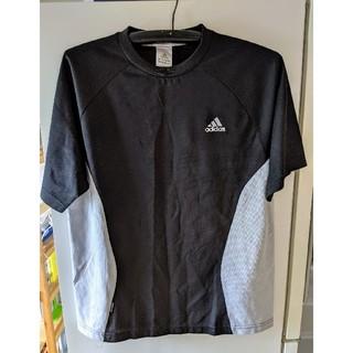 アディダス(adidas)のアディダス adidas 半袖 スポーツ シャツ メンズL ブラック(ウェア)