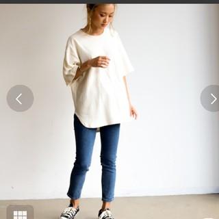 ホリデイ(holiday)のHoliday】シャツテールビッグTシャツ  (Tシャツ(半袖/袖なし))