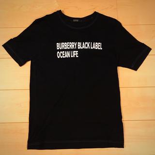 バーバリーブラックレーベル(BURBERRY BLACK LABEL)のバーバリーブラックレーベル Tシャツ ブラック(Tシャツ/カットソー(半袖/袖なし))
