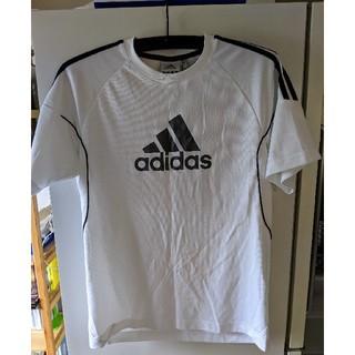 アディダス(adidas)のアディダス adidas 半袖 スポーツ シャツ メンズL ビッグロゴ(ウェア)