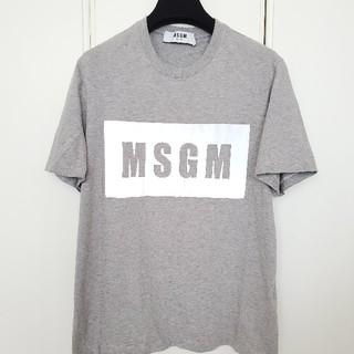 エムエスジイエム(MSGM)のMSGM ロゴTシャツ(Tシャツ/カットソー(半袖/袖なし))