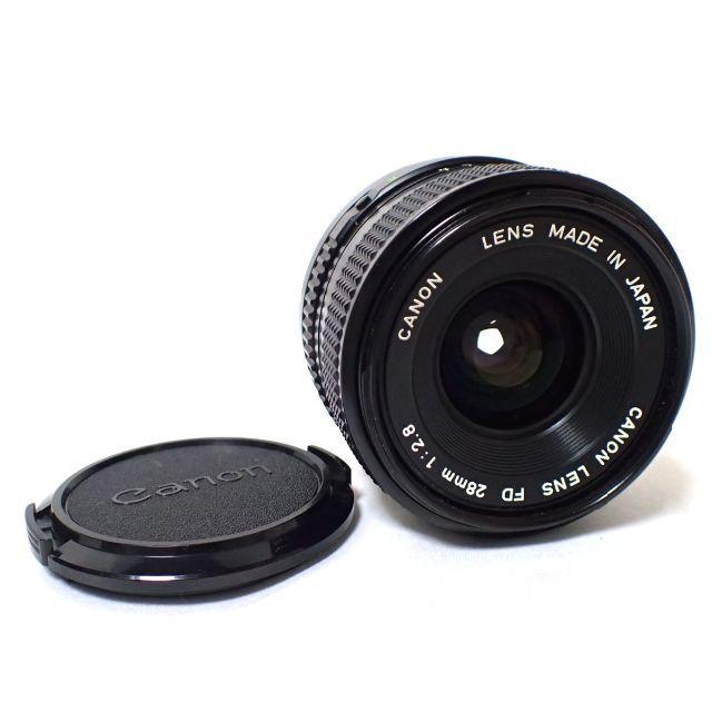 Canon(キヤノン)のD139 CANON キャノン FD 28mm 1:2.8 単焦点レンズ スマホ/家電/カメラのカメラ(レンズ(単焦点))の商品写真