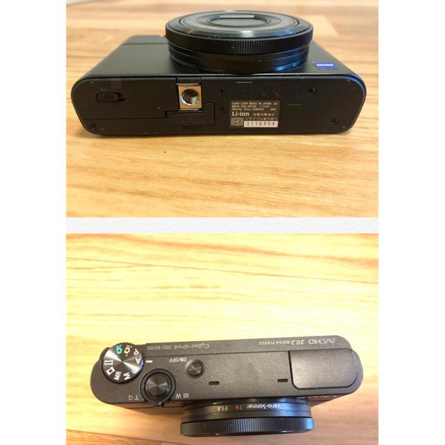 SONY(ソニー)の【美品】SONYソニー デジカメ Cyber-shot DSC-RX100 スマホ/家電/カメラのカメラ(コンパクトデジタルカメラ)の商品写真