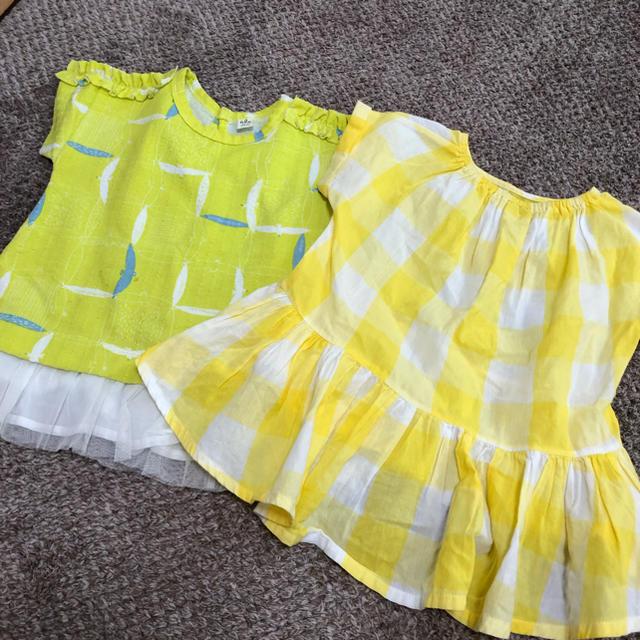 petit main(プティマイン)のプティマイン&アプレクルーク キッズ/ベビー/マタニティのキッズ服 女の子用(90cm~)(Tシャツ/カットソー)の商品写真