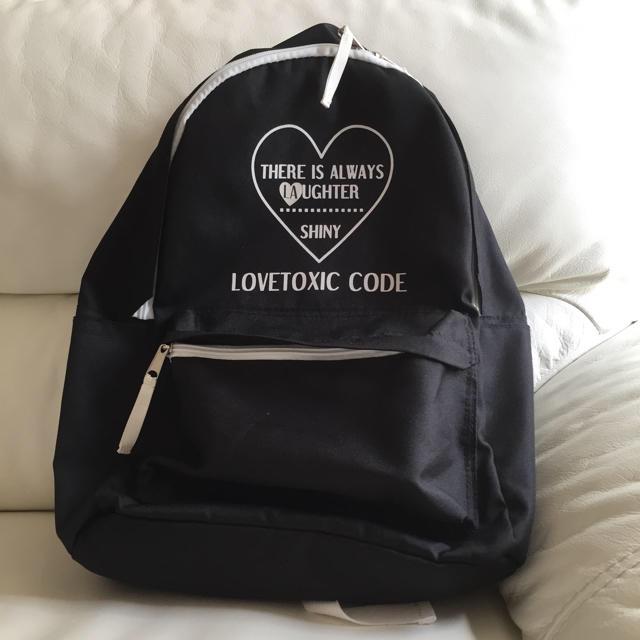 lovetoxic(ラブトキシック)のLOVETOXIC リュック キッズ/ベビー/マタニティのこども用バッグ(リュックサック)の商品写真
