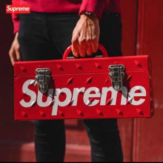 シュプリーム(Supreme)の新品 Supreme Diamond plate tool box(ケース/ボックス)