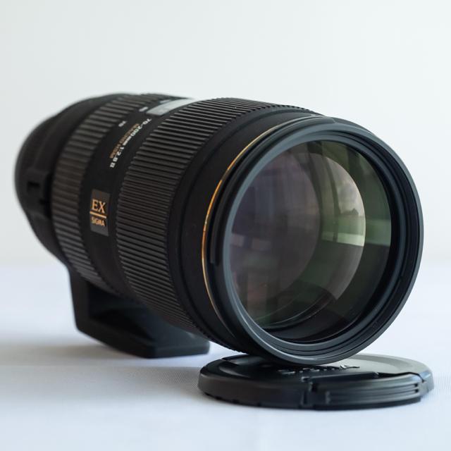 SIGMA(シグマ)のニコン/シグマ APO DG 70-200mm F2.8 Ⅱ MACRO HSM スマホ/家電/カメラのカメラ(レンズ(ズーム))の商品写真