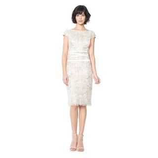 タダシショウジ(TADASHI SHOJI)の新品 6 タダシショージ ワンピース ドレス ホワイト(ひざ丈ワンピース)