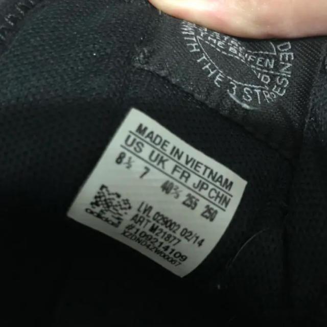 adidas(アディダス)のadidas インヒール 花柄 黒 スニーカー レディースの靴/シューズ(スニーカー)の商品写真
